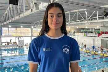Sus nadadoras, Laura Sánchez y Amets Baranda, han brillado a nivel nacional