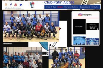 Los del Hockey alcalaíno consolidan su apuesta deportiva con una página que recoge todos sus logros