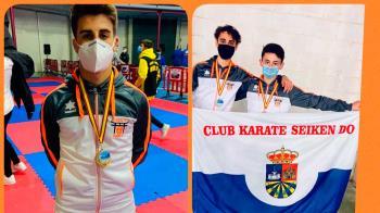 El club fuenlabreño cosechó tres nuevas medallas en la competición nacional