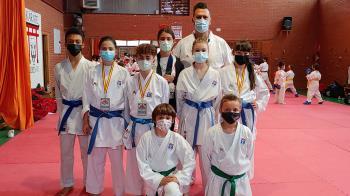 Fuenlabrada ha tenido 8 representantes en el Campeonato de España Infantil y Juvenil de kárate, donde ha logrado tres medallas, un oro, una plata y un bronce