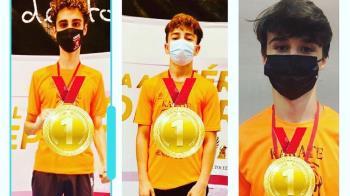 """El conjunto de Fuenlabrada ha logrado 14 metales en el Trofeo Internacional """"Ciudad de Toledo"""""""