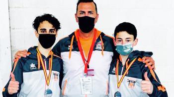 Los karatekas se han presentado en la competición nacional, donde han logrado muy buenos resultados