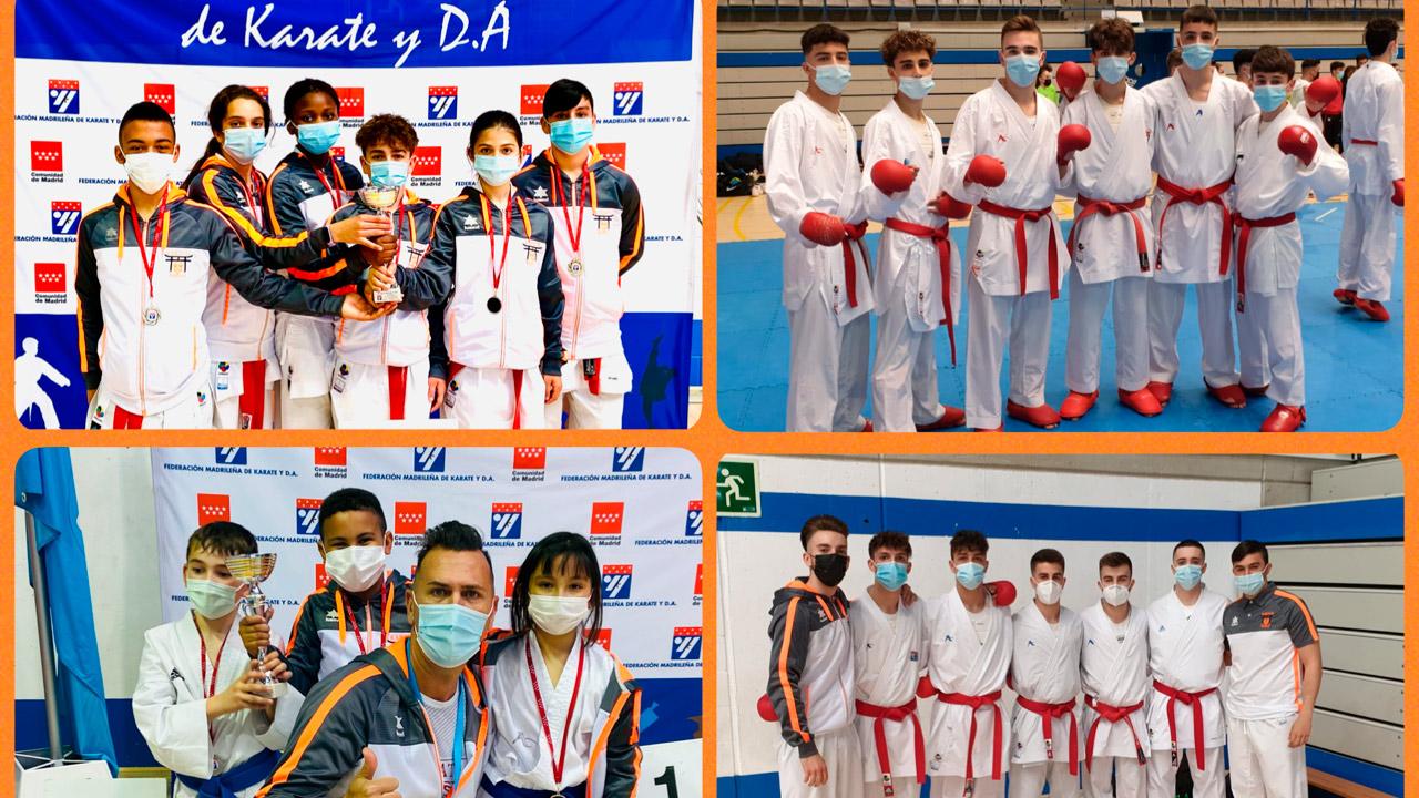Los chicos de Fuenlabrada lo han vuelto a hacer, han obtenido un oro y dos platas, lo que les clasifica para el Campeonato de España