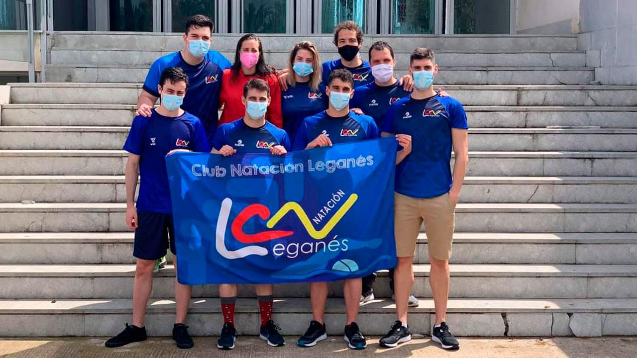 El club leganense logró 9 medallas en el Nacional Máster celebrado en Castellón