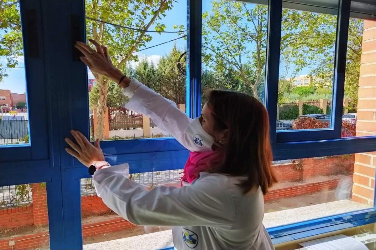 La comunidad educativa del Colegio Alkor ha elaborado un protocolo de ventilación de aulas y espacios comunes dentro de su plan de contingencia Covid-19