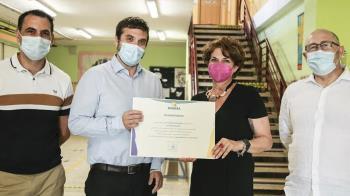 El centro ha sido premiado por la empresa pública ESMASA