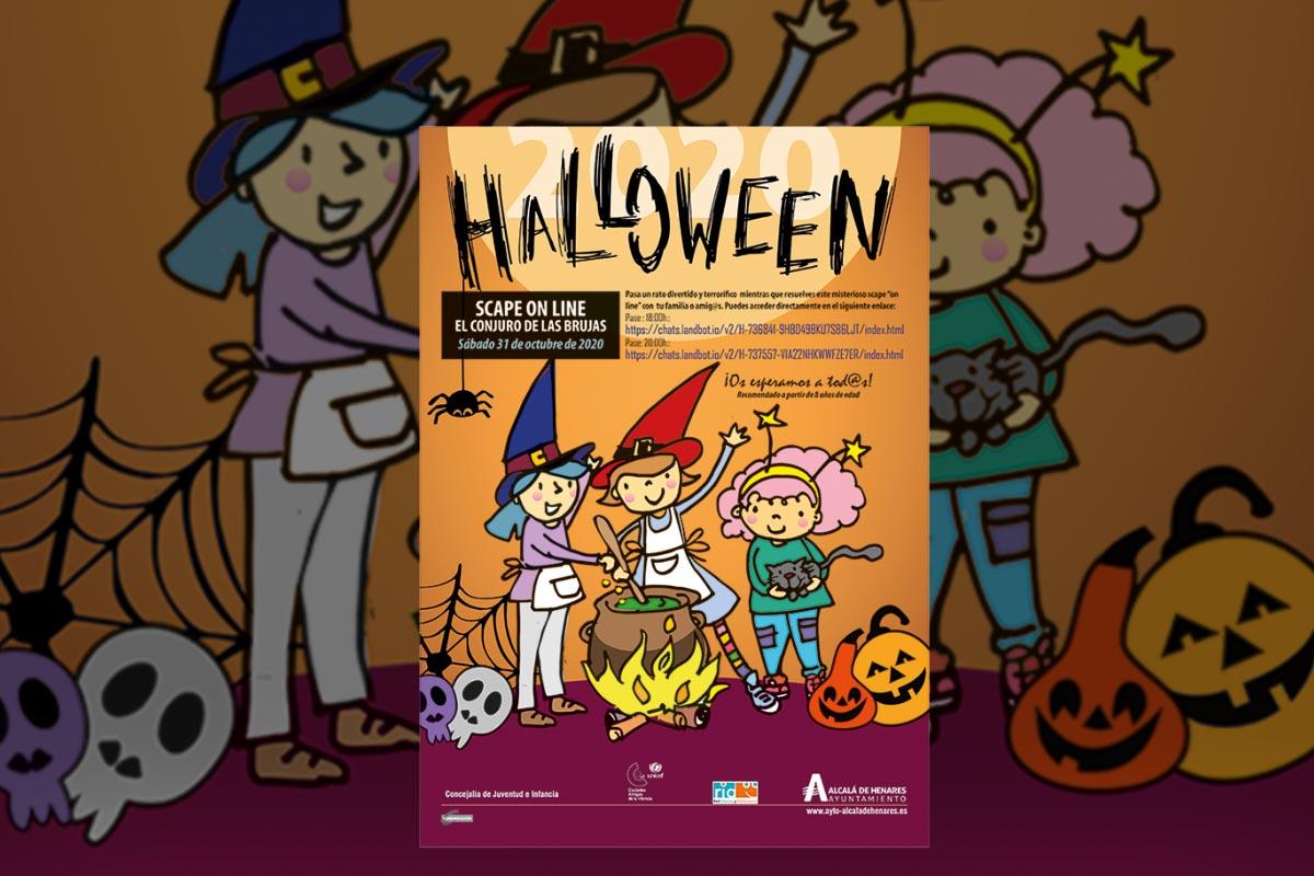 La Concejalía de Infancia organiza un juego online para disfrutar con los más pequeños celebrando Halloween de una forma segura