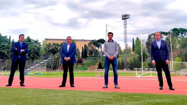 El sanfernandino fue recibido por el Secretario de Estado para el Deporte, José Manuel Franco