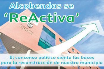 PSOE, Ciudadanos, PP y Podemos firman el Plan 'Reactiva Alcobendas' para enfrentar la crisis del Covid-19