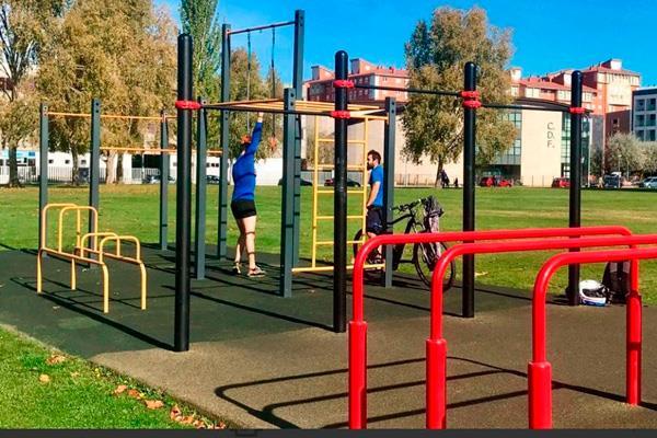 El consistorio solicita financiación para instalar dos puntos de ejercicio saludable