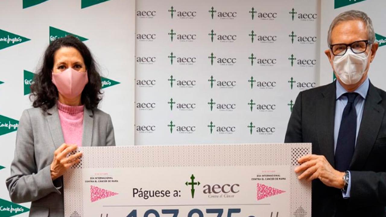 Esa donación va destinada a un nuevo proyecto de investigación en cáncer de mama
