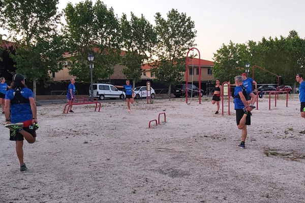El club villaodonense ha retomado las sesiones en grupo
