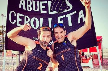 'Miki' y Carlos Ceña representaron al club fuenlabreño en la prueba
