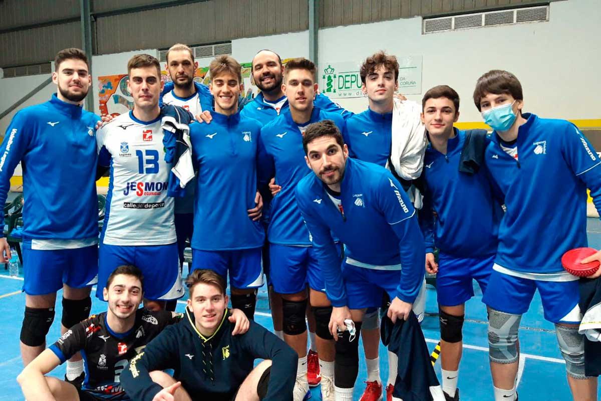 El cuadro leganense no pudo llevarse el trofeo celebrado en Galicia