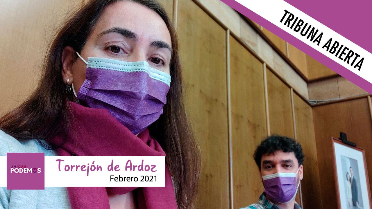 Opinión | La portavoz de Podemos Torrejón de Ardoz, Olga Jiménez Velado, pide transparencia al Gobierno local