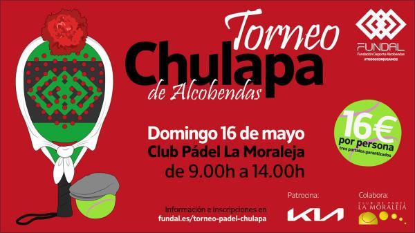 El domingo 16 de mayo llega el Torneo Chulapa de Pádel a Alcobendas
