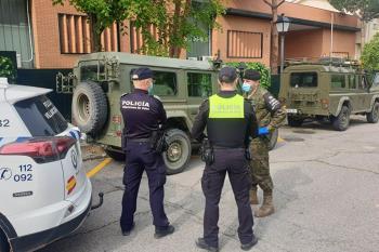 La jornada del sábado, realizaron patrullas para colaborar con Policía Local y Guardia Civil