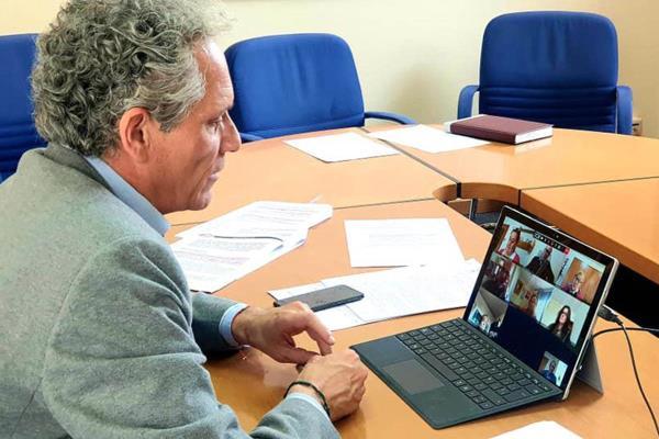 El Equipo de Gobierno informa a los portavoces municipales vía telemática de las medidas adoptadas ante el COVID-19