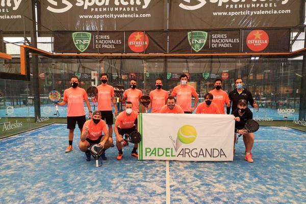 El equipo Metacesa, del Pádel Club Arganda, Campeón de España