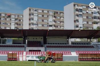 El campo de la  Real Sociedad Deportiva de Alcalá ha sido el escenario elegido para promocionar la Liga Nacional de FIFA 2021