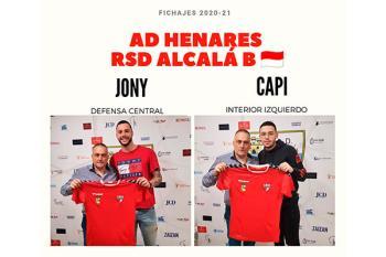 Jonathan Dos Santos y David López Taragaza son los nuevos fichajes del equipo rojillo