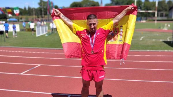 El fuenlabreño David Muñoz se cuelga una nueva medalla en el Open de Republica Checa