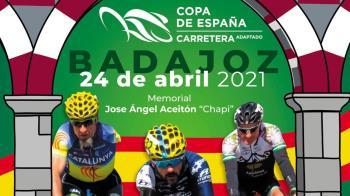 La prueba, de carretera, se disputará el próximo 24 de abril en Badajoz