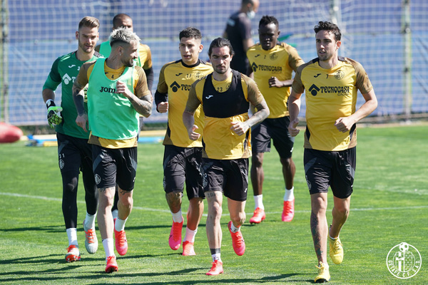 El equipo de José Bordalás continúa con su preparación para la vuelta de la competición