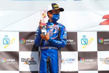 Se proclamó campeón en la categoría Mini en el circuito Kart Center de Campillos