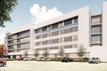 El centro será de dos plantas con una capacidad de 160 plazas repartidas en 120 habitaciones individuales y 20 habitaciones dobles