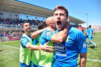 El Fuenla puso pie y medio en Segunda división gracias a esa victoria