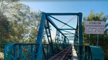 Una nueva plataforma facilitará el uso compartido por parte de peatones, ciclistas y del tren turístico de vapor