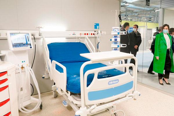 El centro abre el Pabellón 1 hoy con 72 camas operativas ante el aumento de casos de coronavirus