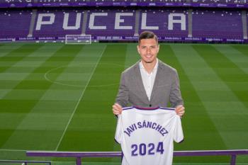 El conjunto vallisoletano ha pagado 3 millones de euros por nuestro jugador