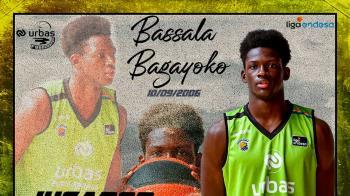 Bassala Bagayoko se ha convertido en el jugador más joven en debutar en ACB