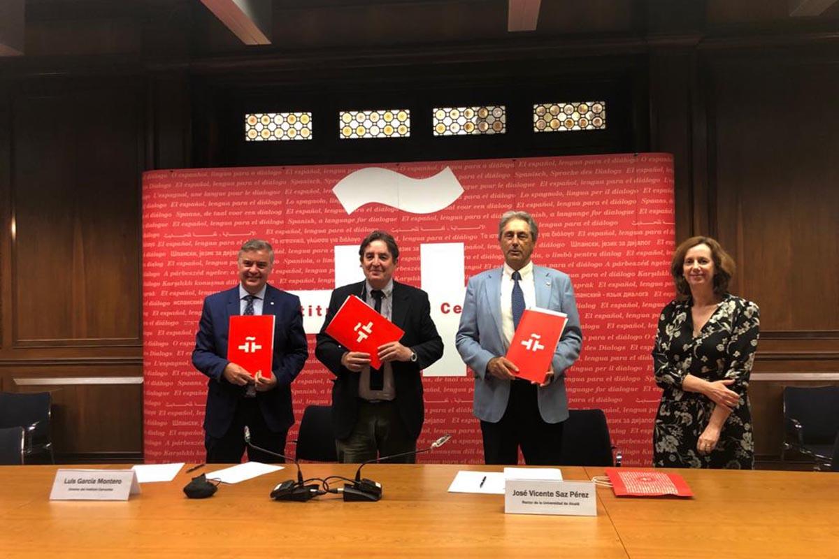 El amplio fondo bibliográfico que presta el Cervantes reposará en la biblioteca de la UAH y podrán consultarlo todos los interesados