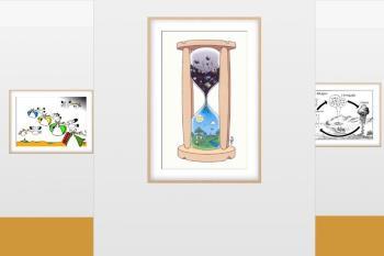 La sala virtual del Instituto Quevedo presenta una muestra de láminas y viñetas sobre el desarrollo sostenible