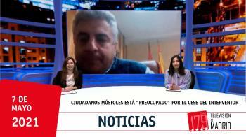 El portavoz de Ciudadanos en Móstoles, José Antonio Luelmo, fundamenta el cese del interventor en los informes desfavorables contra Noelia Posse