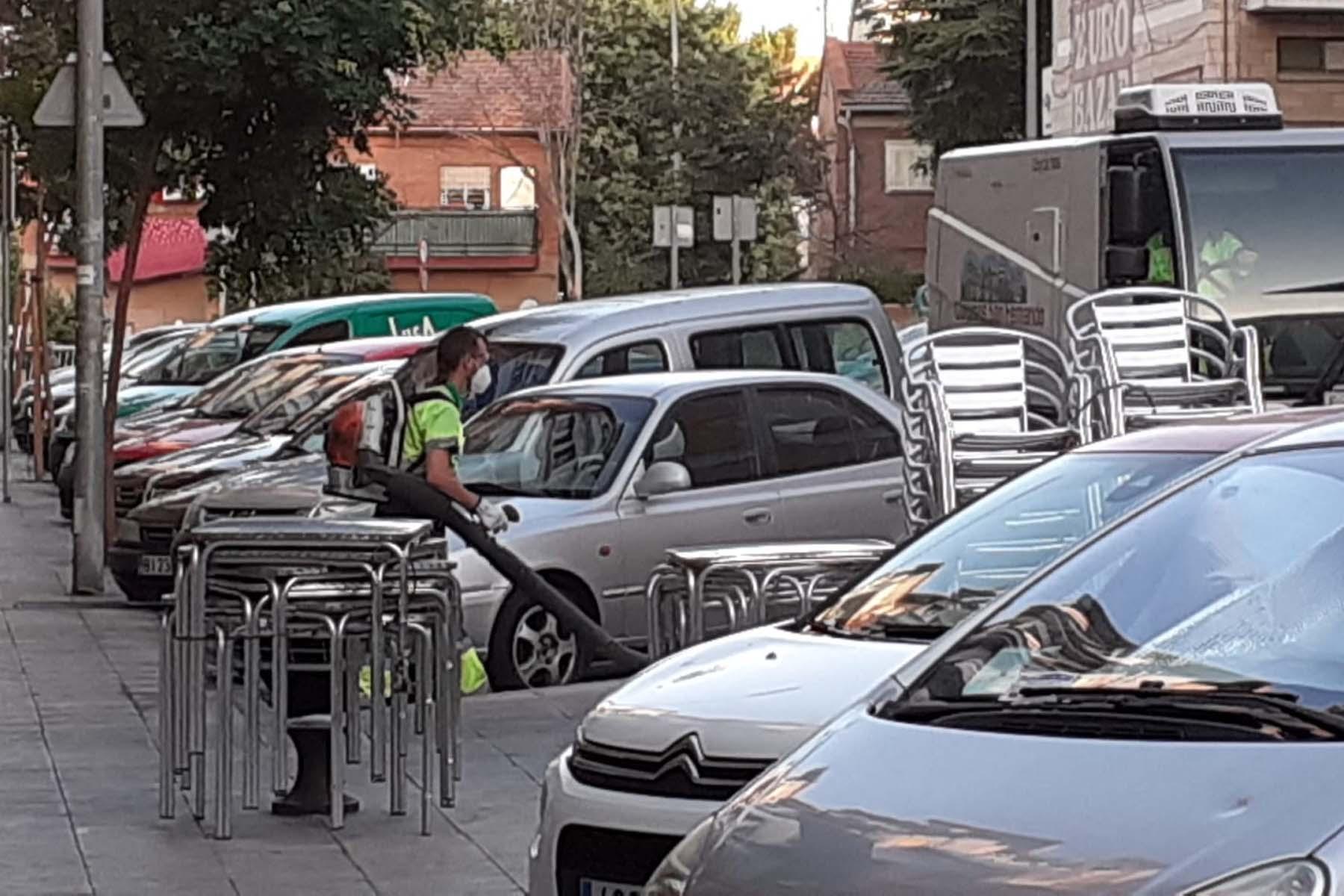 Los trabajos que comenzaron a mediados del mes de julio llegan estos días a las inmediaciones de las calles Zamora, Jaén y Cuenca.
