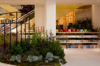 Los grandes almacenes de la Castellana cuentan con su propio jardín de perfumes mediterráneo