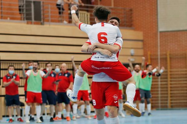 Los leganenses vencieron al Movistar Inter B por 6 a 1