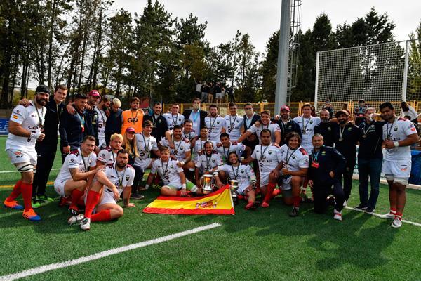 El Lexus Alcobendas Rugby repite título de Campeón de la Copa del Rey