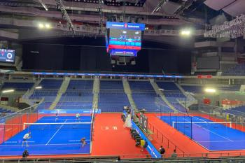 La instalación madrileña acoge el Campeonato de España de Pádel