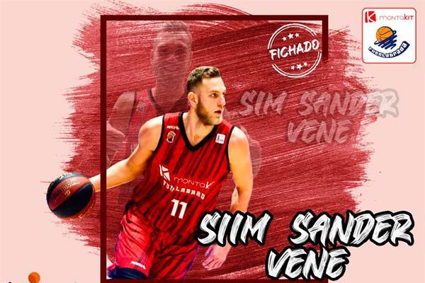 El Montakit Fuenlabrada presenta a su primer fichaje: Siim-Sander Vene