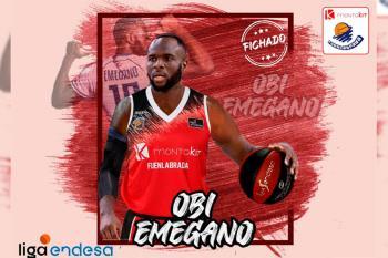 Obi Emegano, nigeriano de 27 años y 191 centímetros ficha por una temporada