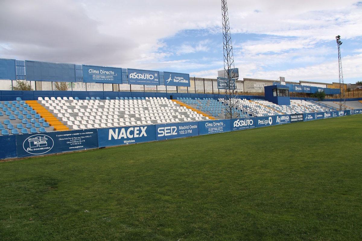 El club mostoleño ha decidido dejar de jugar en el Estadio Municipal El Soto