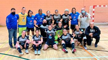 Las mostoleñas vencieron al InterSala por 6 a 2 y siguen tercera en la Primera división