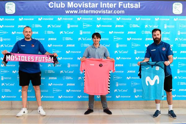El club mostoleño ha llegado a un acuerdo de colaboración con el gigante de nuestro fútbol sala