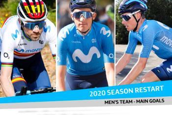 Valverde y Mas irán al Tour y a La Vuelta; el Giro será para Marc Soler