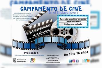 El objetivo del campamento juvenil es conocer la producción cinematográfica y los misterios de las películas